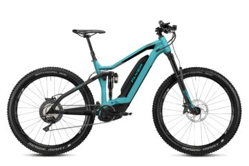 Uproc7 - Fullsuspension von FLYER (E-Bike | Mountain) poolblue black