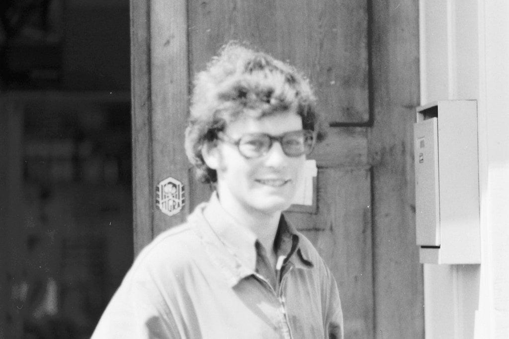 Hans Schwarz Velos-Motos in Bischofszell im Jahre 1974