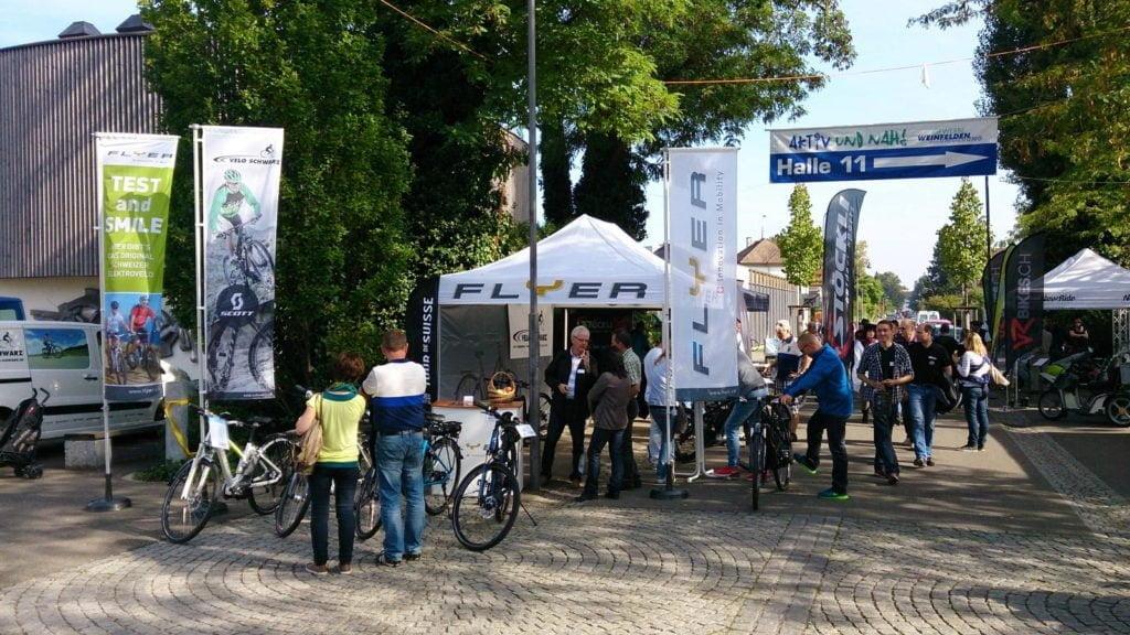 WEGA Sonderschau & Testmöglichkeiten der neusten E-Bike Generation.