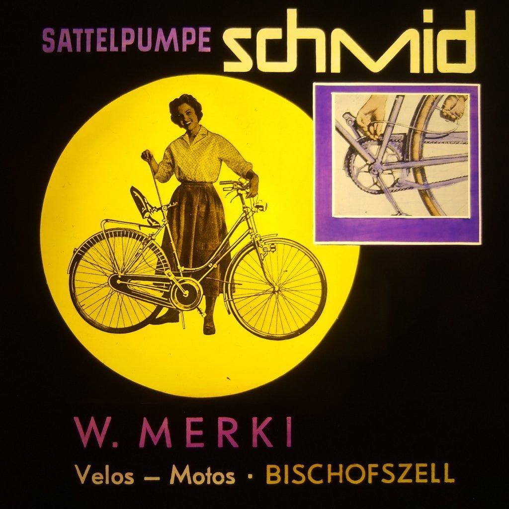 Werbetafel Walter Merki Bischofszell