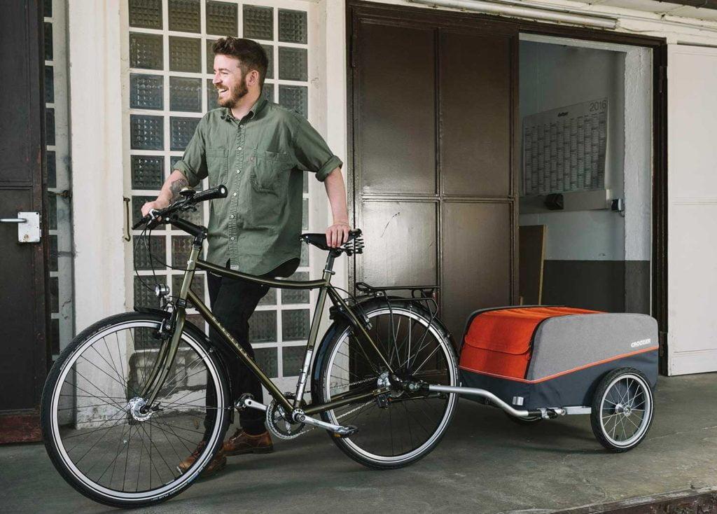 Cargo von CROOZER (Fahrrad Anhänger) Bike