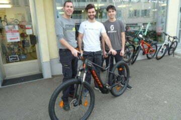 News Pascal Schwarz mit Joao und Gregory
