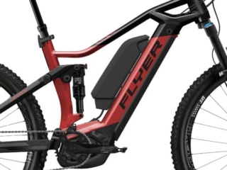 Uproc3 von FLYER (E-Bike | Mountain), Redbrown-Black, Dual-Battery