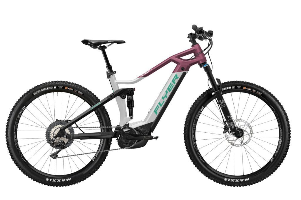 Uproc3 von FLYER (E-Bike | Mountain), Solidwhite-Berry