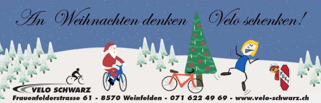 Velo Schwarz Beitragsbild: Weihnachtsaktion 2015