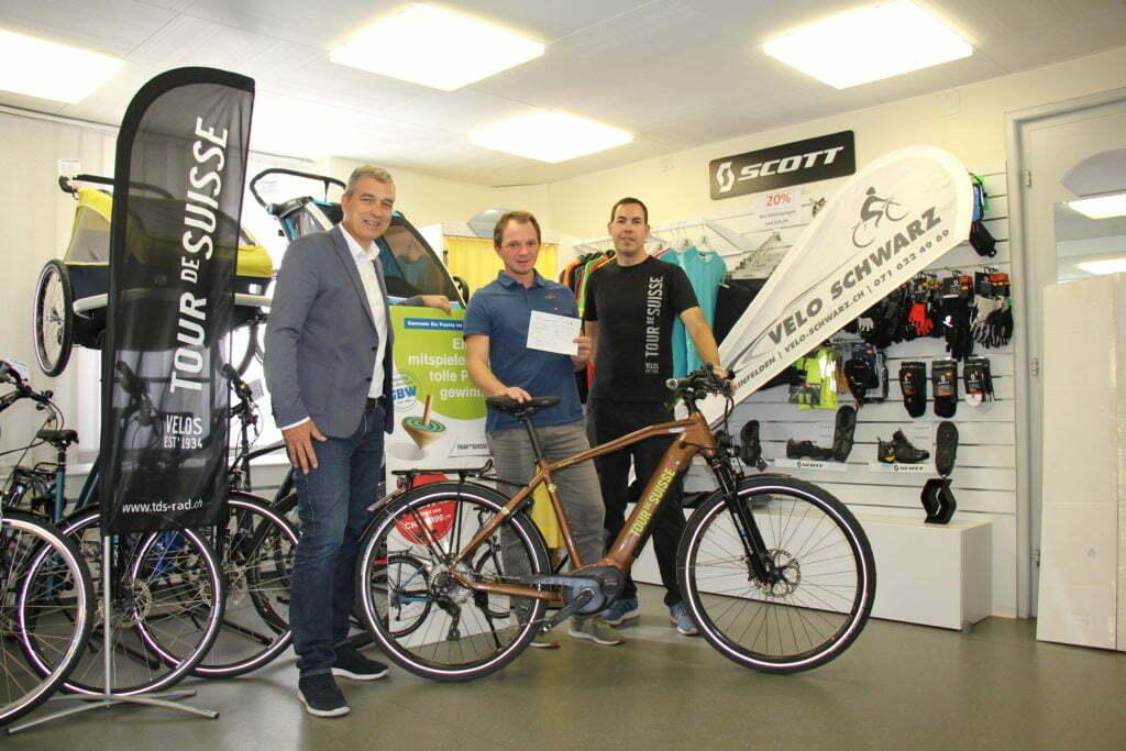 Velo Schwarz Beitragsbild: Gewinner E-Bike Wega 2019