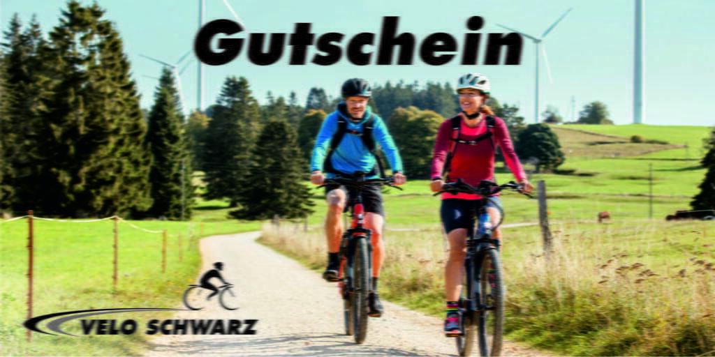 Gutschein Velo Schwarz