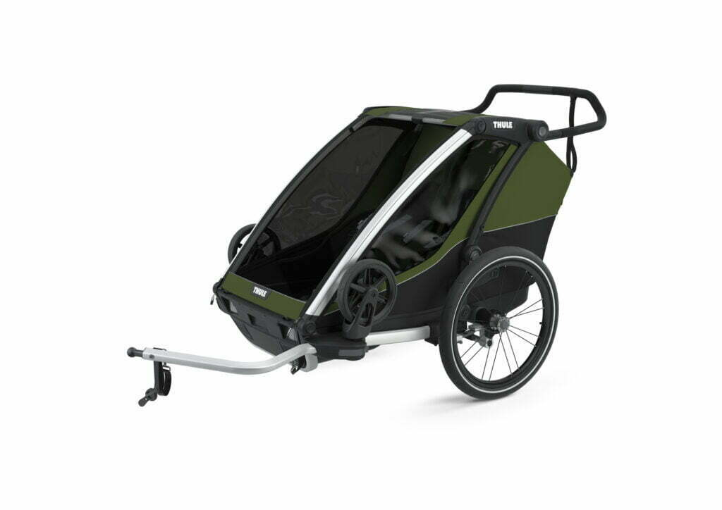 Cab 2 von THULE CHARIOT (Fahrrad Anhänger) Cypress Green