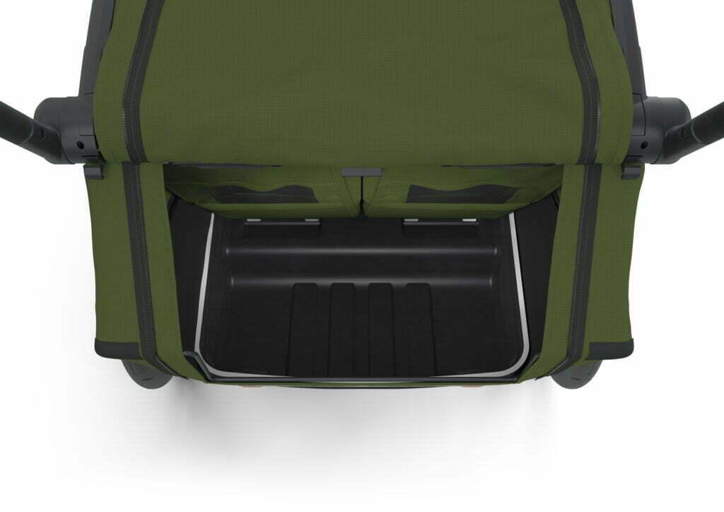 Cab 2 von THULE CHARIOT (Fahrrad Anhänger) Gepäckfach
