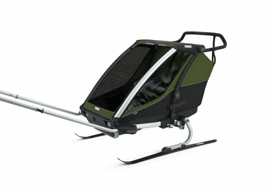 Cab 2 von THULE CHARIOT (Fahrrad Anhänger) Ski