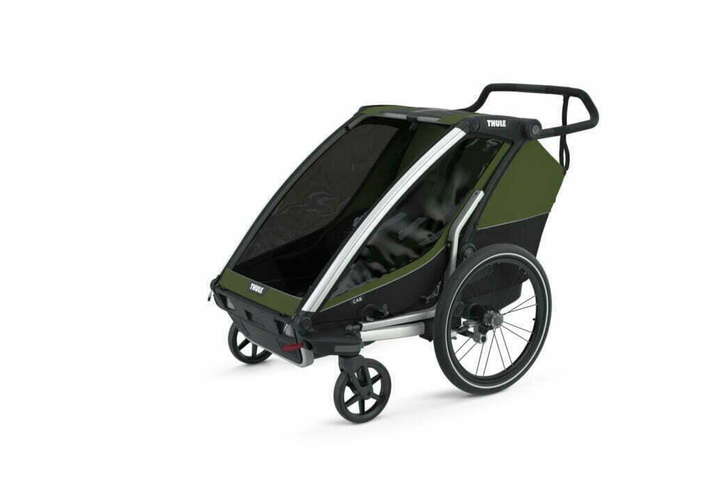 Cab 2 von THULE CHARIOT (Fahrrad Anhänger) Stroller