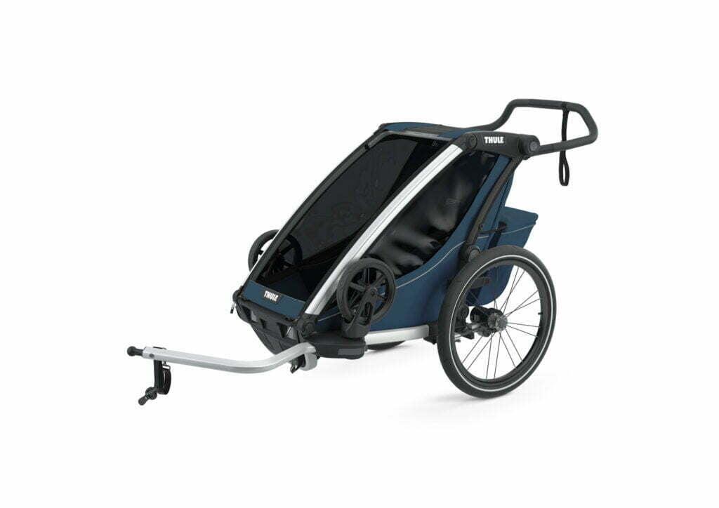 Cross 1 von THULE CHARIOT (Fahrrad Anhänger) Majolica Blue