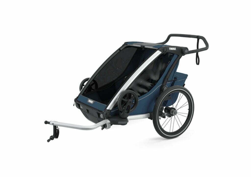 Cross 2 von THULE CHARIOT (Fahrrad Anhänger) Majolica Blue