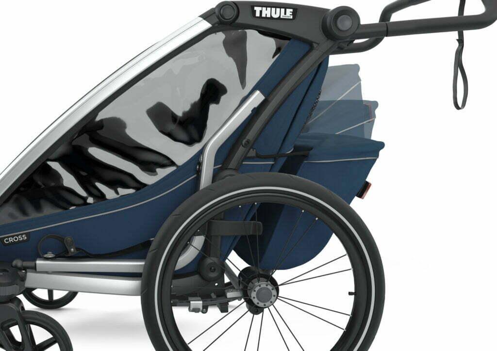Cross von THULE CHARIOT (Fahrrad Anhänger) Gepäckfach