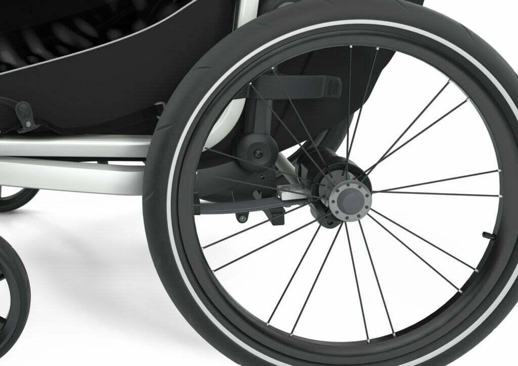 Lite von THULE CHARIOT (Fahrrad Anhänger) Federung