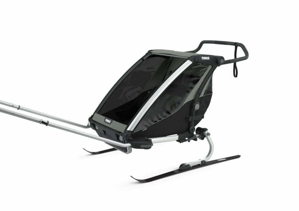 Lite von THULE CHARIOT (Fahrrad Anhänger) Ski