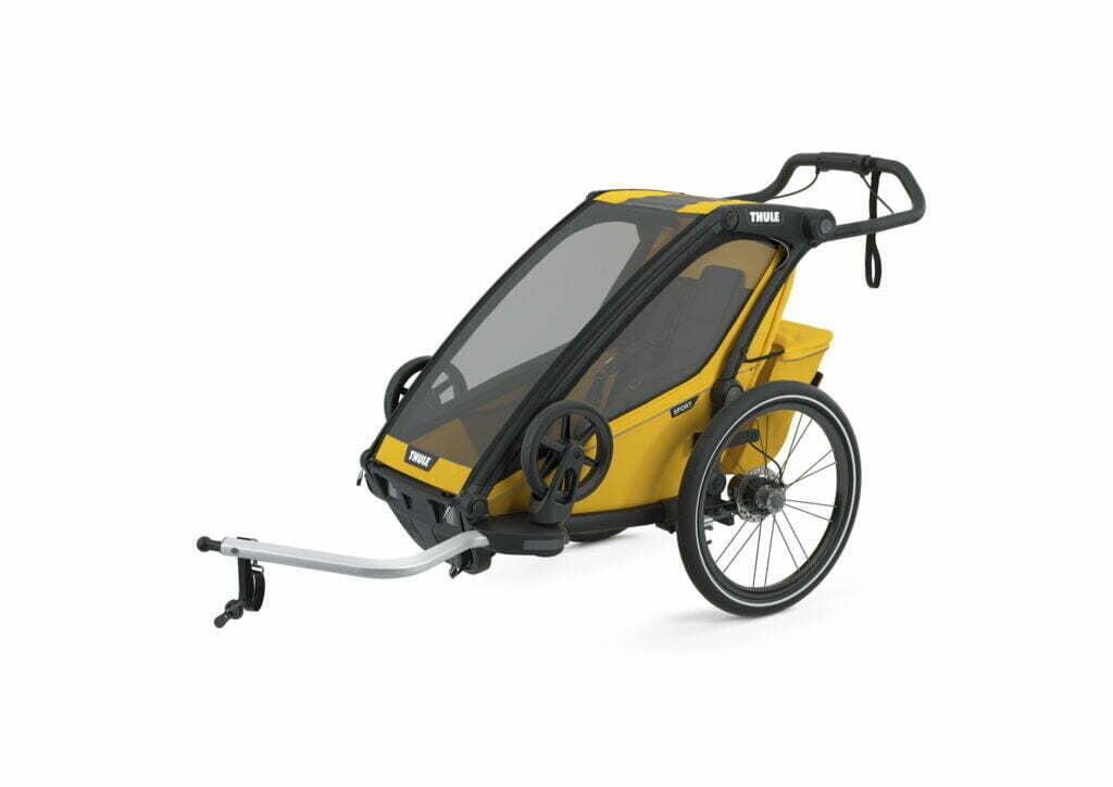 Sport 1 von THULE CHARIOT (Fahrrad Anhänger) Spectra Yellow