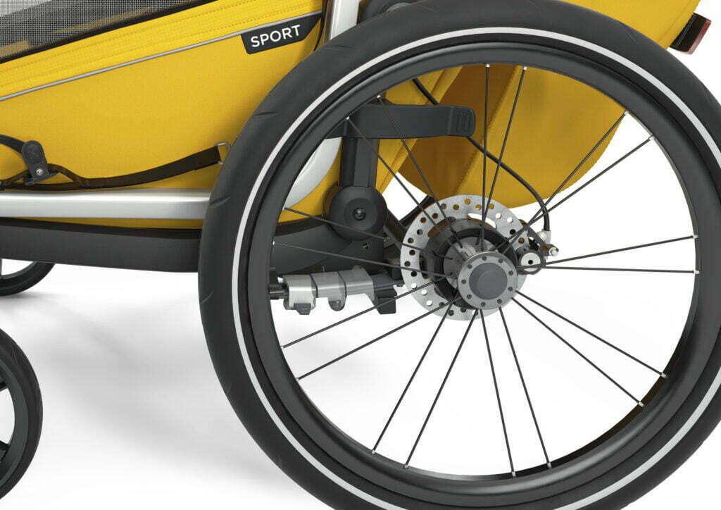 Sport von THULE CHARIOT (Fahrrad Anhänger) Federung