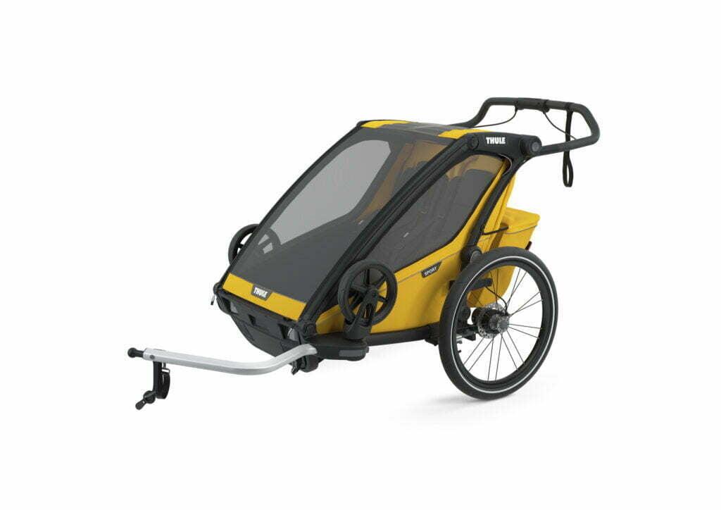 Sport 2 von THULE CHARIOT (Fahrrad Anhänger) Spectra Yellow