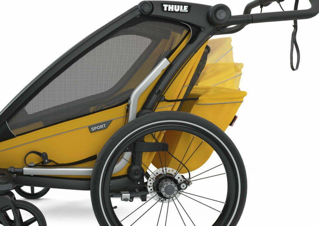 Sport von THULE CHARIOT (Fahrrad Anhänger) Gepäckfach