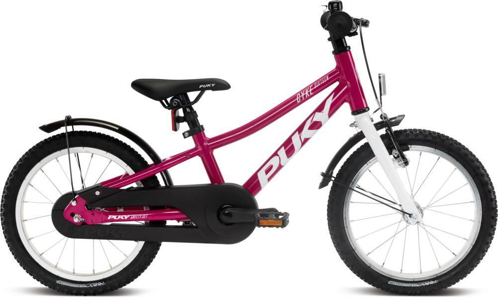 Cyke 16 von PUKY (Kinderfahrräder), Berry White