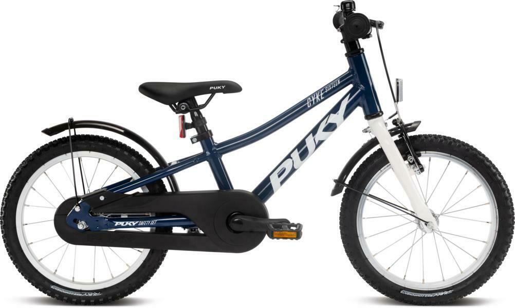 Cyke 16 von PUKY (Kinderfahrräder), Racingblue White