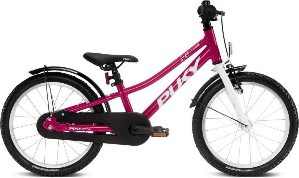 Cyke 18 von PUKY (Kinderfahrräder), Berry White