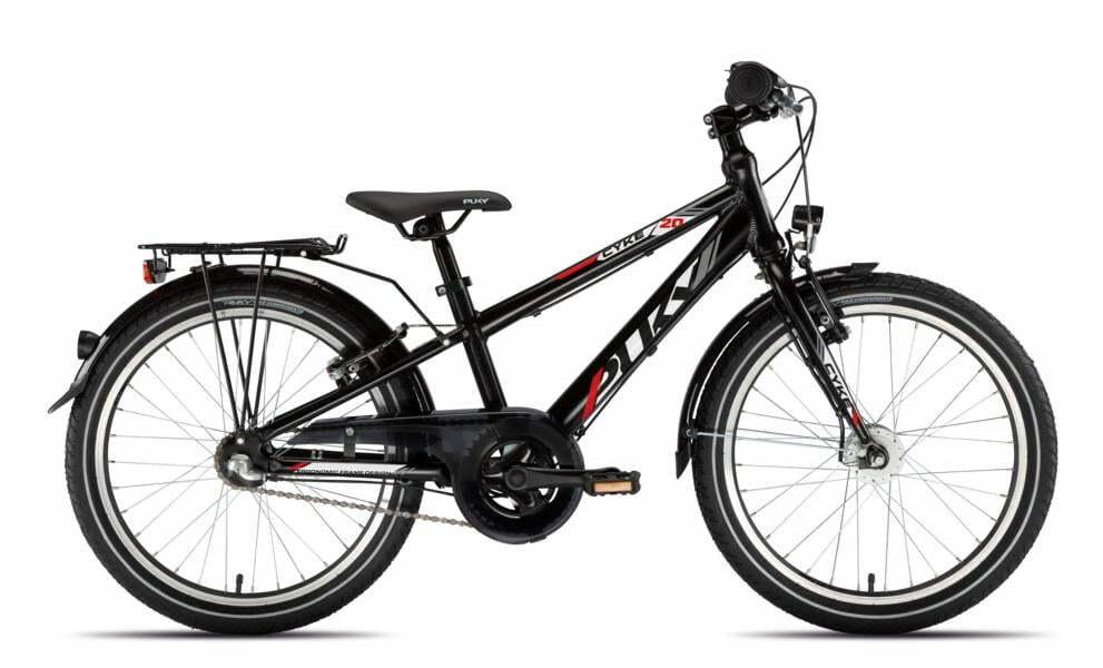 Cyke 20 3Gang von PUKY (Kinderfahrräder), Schwarz