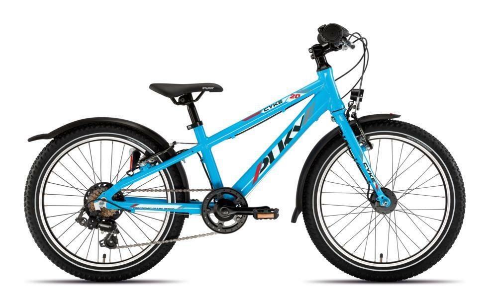 Cyke 20 3Gang von PUKY (Kinderfahrräder), Active Freshblue