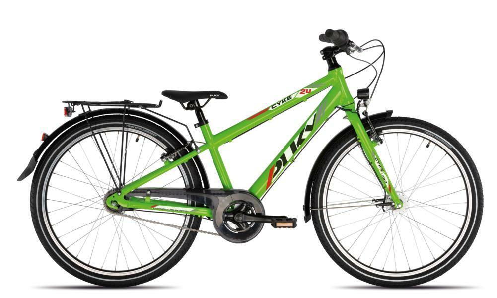 Cyke 24 7Gang von PUKY (Kinderfahrräder), Light Kiwi