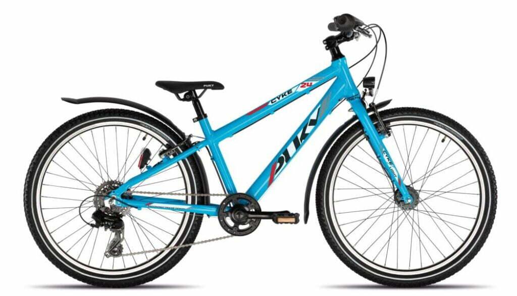 Cyke 24 8Gang von PUKY (Kinderfahrräder), Light Active Freshblue