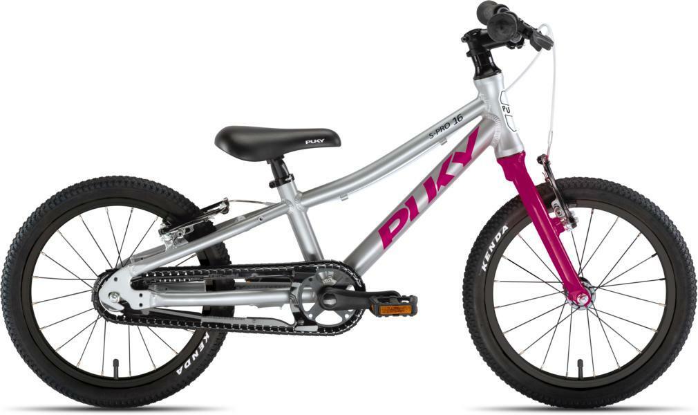 LS-Pro 16 von PUKY (Kinderfahrräder), Silber Berry