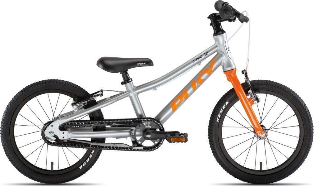 LS-Pro 16 von PUKY (Kinderfahrräder), Silber Orange