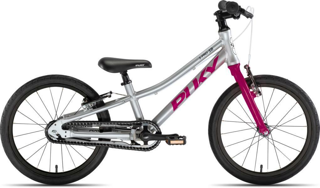 LS-Pro 18 von PUKY (Kinderfahrräder), Silber Berry