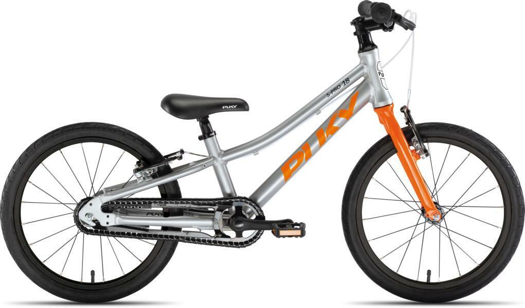 LS-Pro 18 von PUKY (Kinderfahrräder), Silber Orange