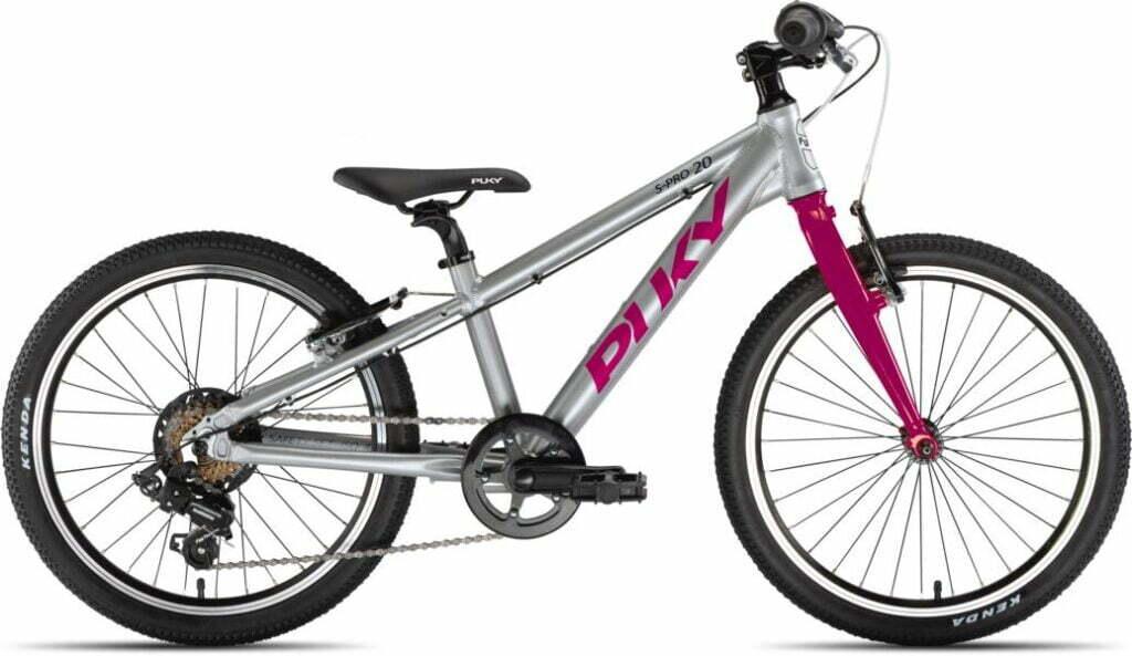 LS-Pro 20 7Gang von PUKY (Kinderfahrräder), Silber Berry