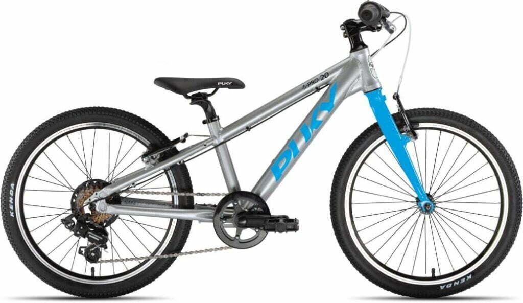 LS-Pro 20 7Gang von PUKY (Kinderfahrräder), Silber Freshblue