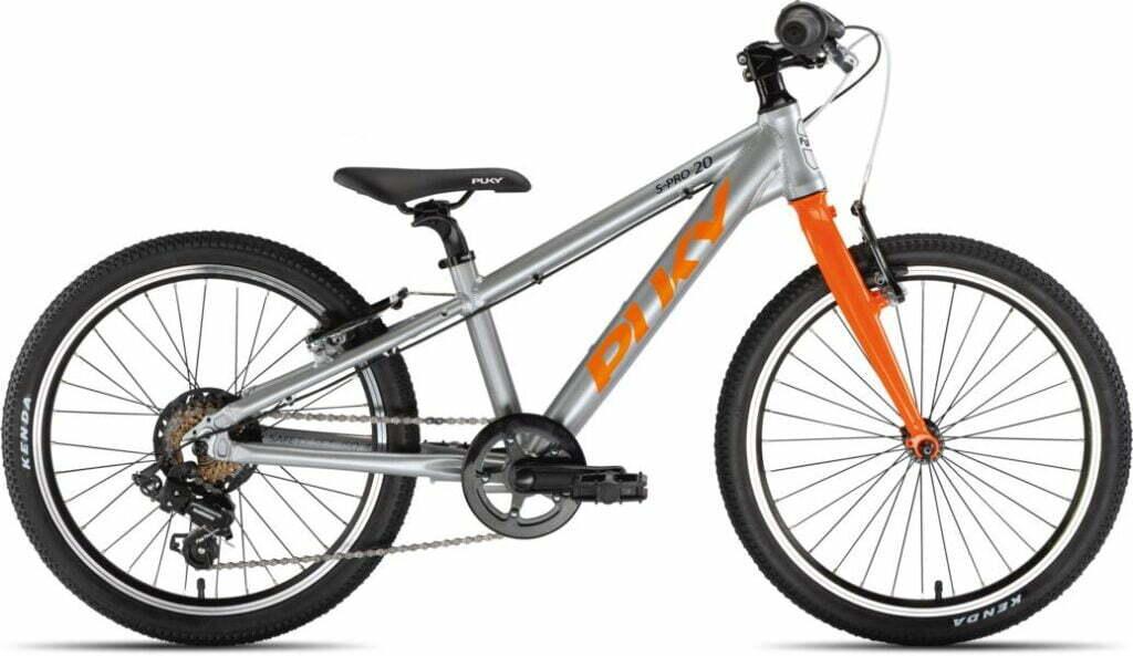 LS-Pro 20 7Gang von PUKY (Kinderfahrräder), Silber Orange