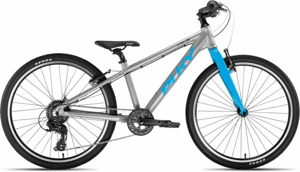 LS-Pro 24 8Gang von PUKY (Kinderfahrräder), Silber Freshblue