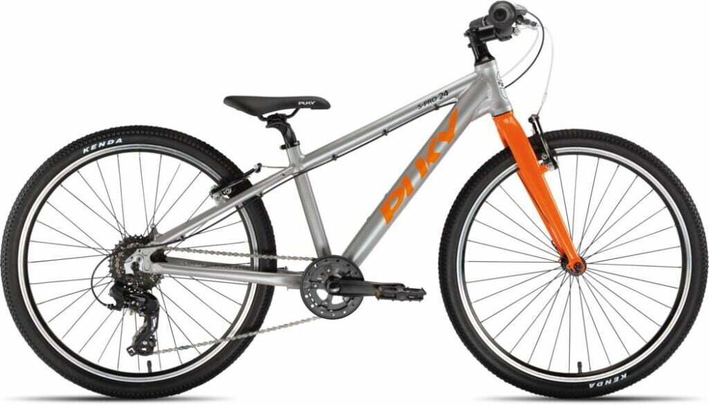 LS-Pro 24 8Gang von PUKY (Kinderfahrräder), Silber Orange