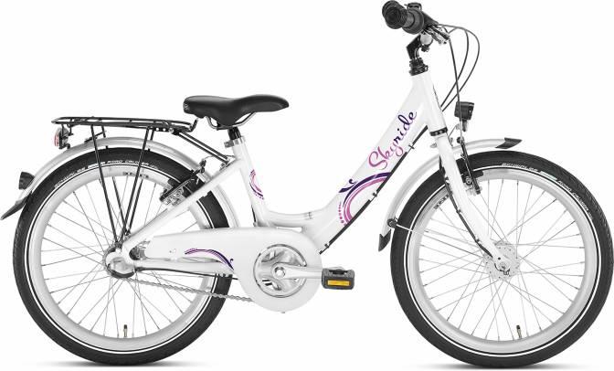 Skyride 20 3Gang von PUKY (Kinderfahrräder), Weiss