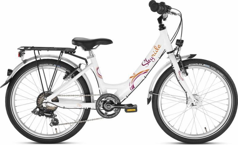 Skyride 20 6Gang von PUKY (Kinderfahrräder), Weiss