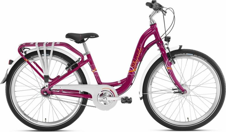 Skyride 24 7Gang von PUKY (Kinderfahrräder), Light Berry City