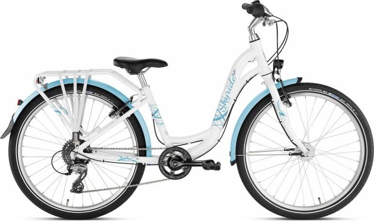 Skyride 24 8Gang von PUKY (Kinderfahrräder), Light Weiss