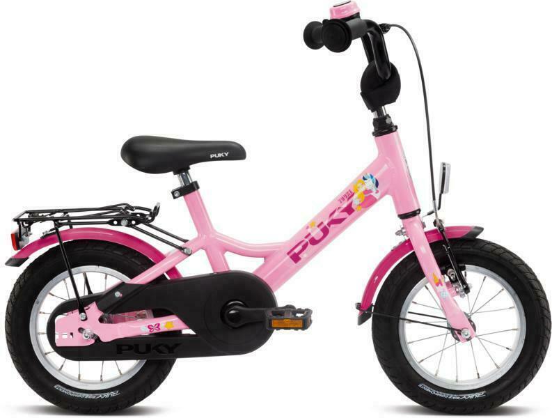 Youke 12 von PUKY (Kinderfahrräder), Rosé