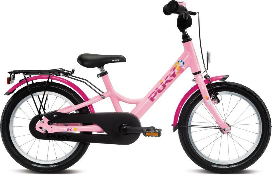 Youke 16 von PUKY (Kinderfahrräder), Rosé