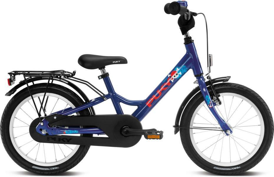 Youke 16 von PUKY (Kinderfahrräder), Ultramarineblue