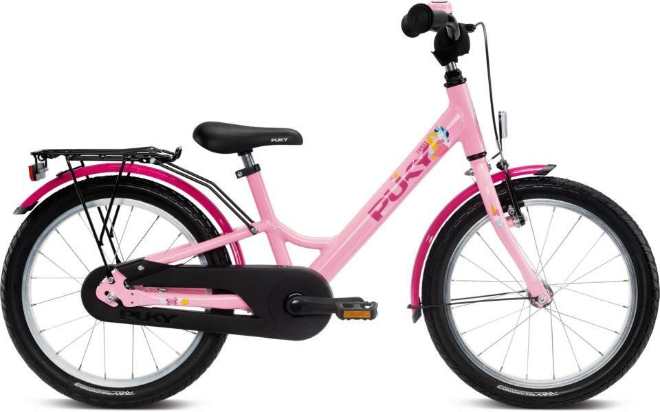 Youke 18 von PUKY (Kinderfahrräder), Rosé